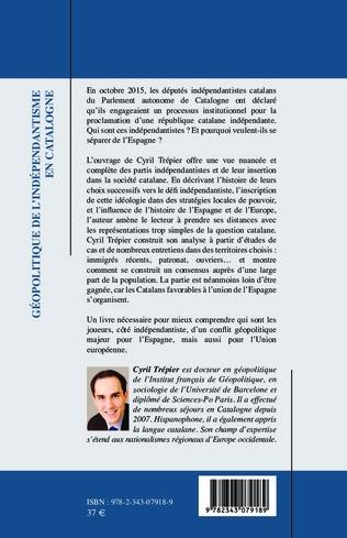 4eme Géopolitique de l'indépendantisme en Catalogne