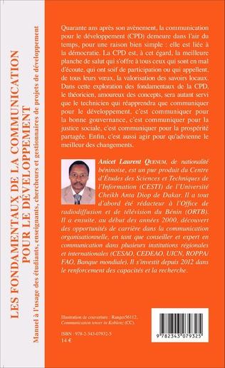 4eme Les fondamentaux de la communication pour le développement