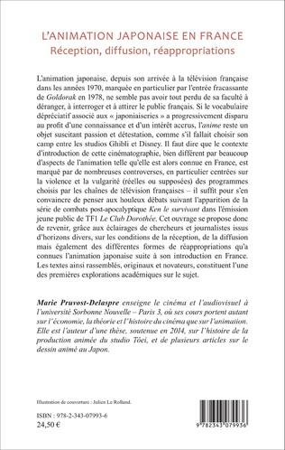 4eme L'animation japonaise en France