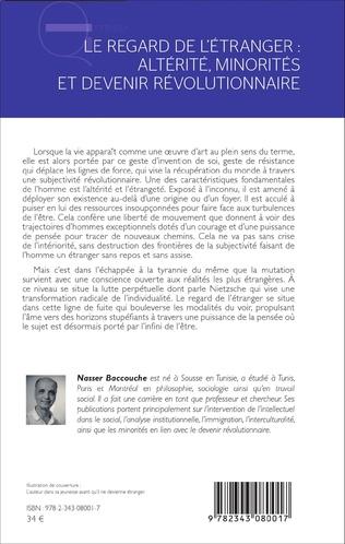 4eme Le regard de l'étranger : altérité, minorités et devenir révolutionnaire