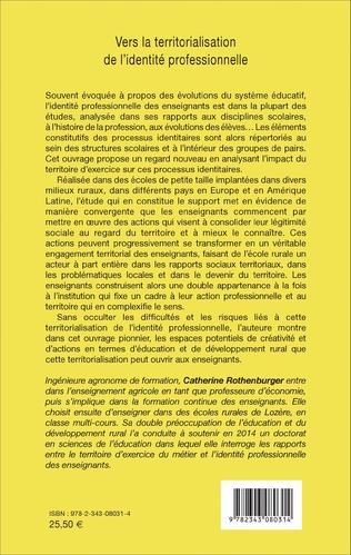 4eme Vers la territorialisation de l'identité professionnelle