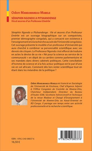 4eme Séraphin Ngondo A Pitschandenge