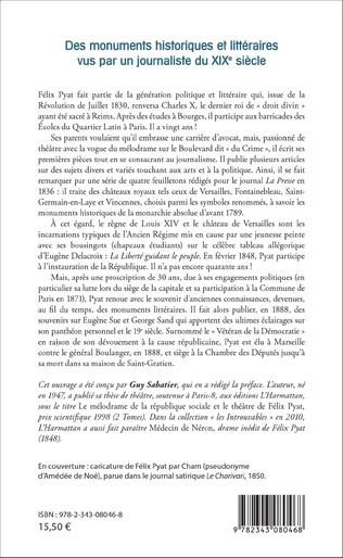 4eme Des monuments historiques et littéraires vus par un journaliste du XIXe siècle