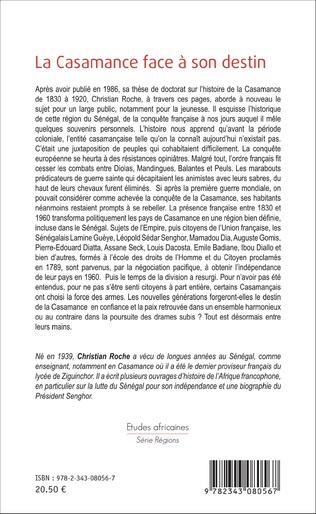 4eme La Casamance face à son destin
