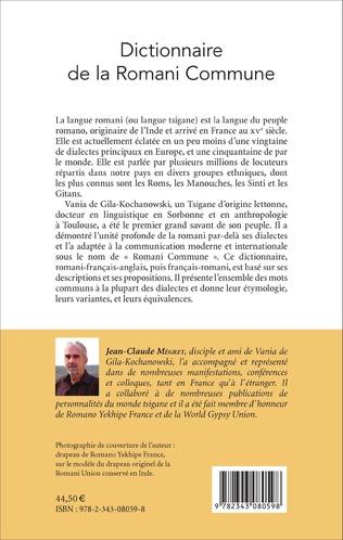 4eme Dictionnaire de la Romani Commune
