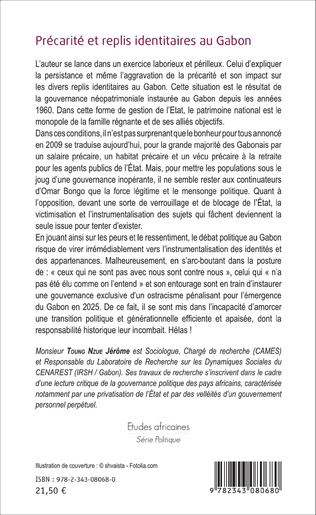 4eme Précarité et replis identitaires au Gabon