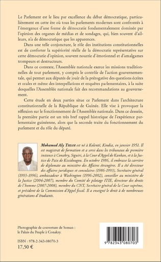 4eme L'expérience parlementaire guinéenne