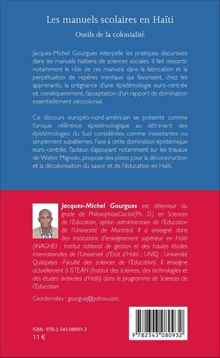 4eme Les manuels scolaires en Haïti