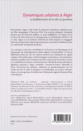 4eme De la planification stratégique au projet urbain : quel modèle pour Alger ?
