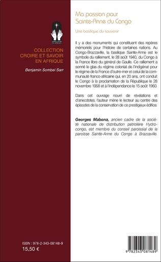 4eme Ma passion pour Sainte-Anne du Congo