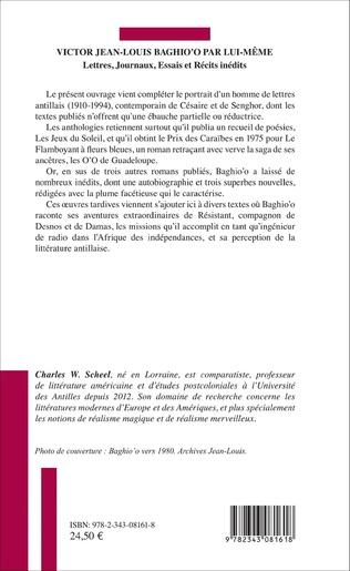4eme Victor Jean Louis Baghio'o par lui-même