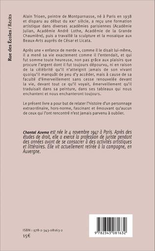 4eme Histoire d'Alain Trioen, peintre de Montparnasse