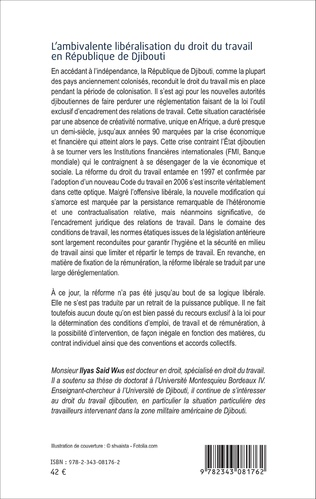 4eme L'ambivalente libéralisation du droit du travail en République de Djibouti