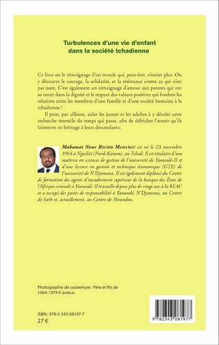 4eme Turbulences d'une vie d'enfant dans la société tchadienne