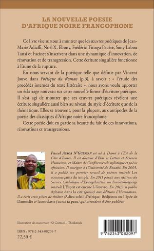4eme La nouvelle poésie d'Afrique noire francophone
