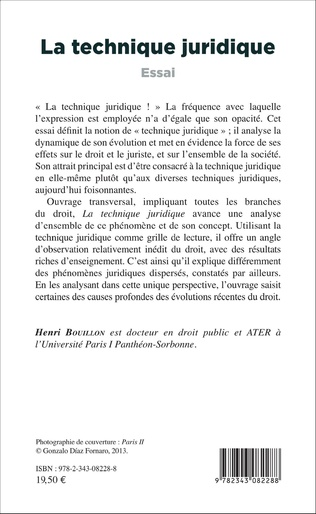 4eme La technique juridique