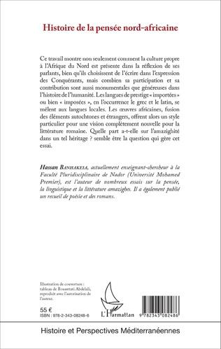 4eme Histoire de la pensée nord-africaine