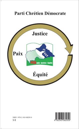 4eme Pour une politique de paix en Centrafrique