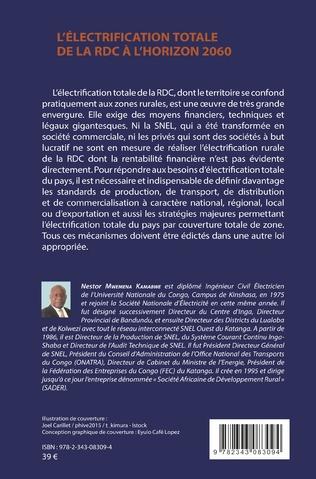 4eme L'Electrification totale de la RDC à l'horizon 2060