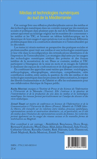 4eme Médias et technologies numériques au sud de la Méditerranée