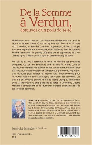 4eme De la Somme à Verdun