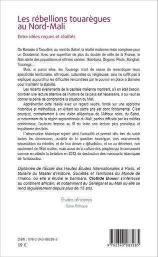 4eme Les rébellions touarègues au Nord Mali