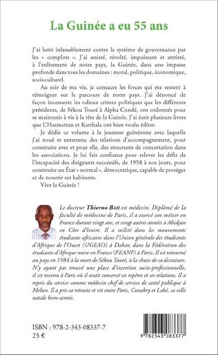 4eme La Guinée a eu 55 ans