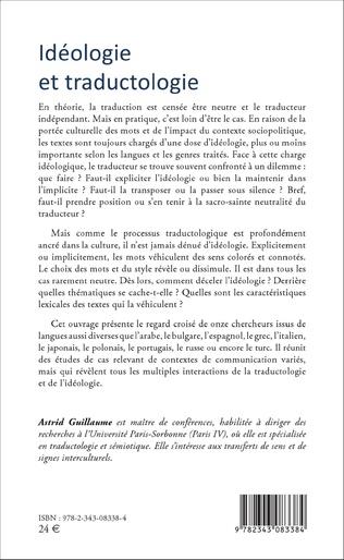 4eme Idéologie et traductologie