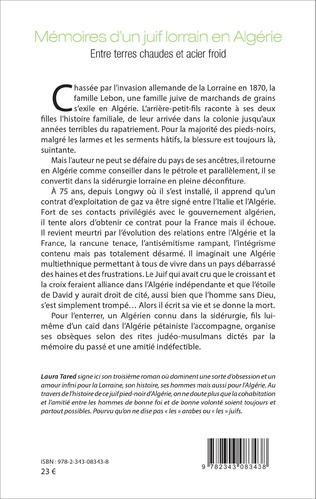 4eme Mémoires d'un juif lorrain en Algérie