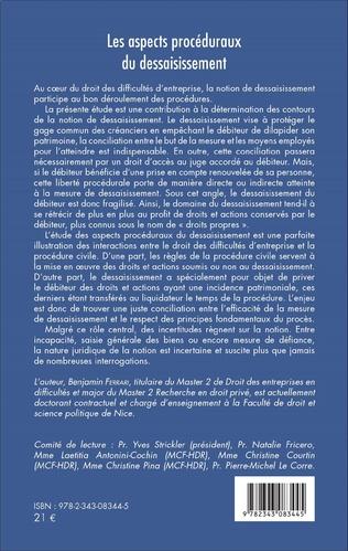 4eme Les aspects procéduraux du dessaisissement