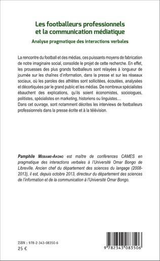4eme Les footballeurs professionnels et la communication médiatique