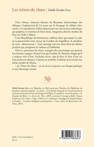 4eme Les trésors du chaos. Roman