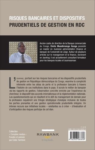 4eme Risques bancaires et dispositifis prudentiels de gestion en RDC
