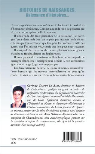4eme Histoires de naissances,