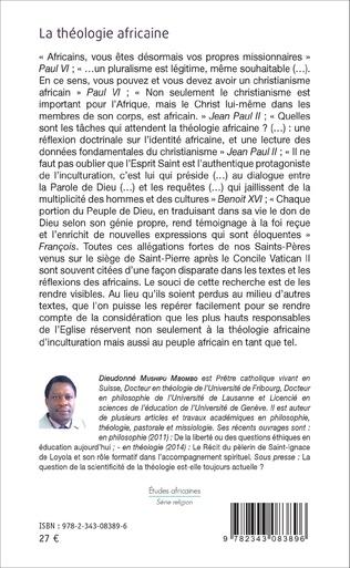 4eme La théologie africaine