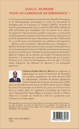 4eme Quelle jeunesse pour le Cameroun en émergence ?