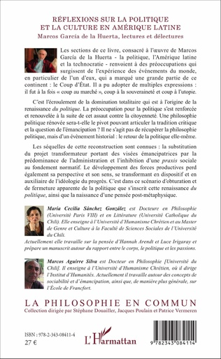 4eme Réflexions sur la politique et la culture en Amérique latine