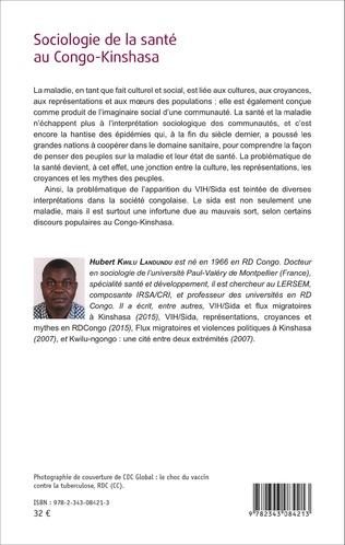 4eme Sociologie de la santé au Congo-Kinshasa