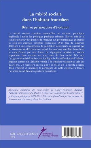 4eme La mixité sociale dans l'habitat francilien