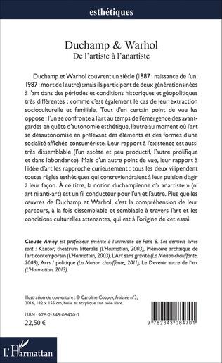 4eme Duchamp & Warhol