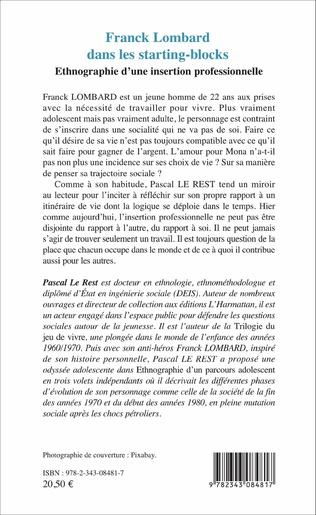4eme Franck Lombard dans les starting-blocks