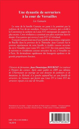 4eme Une dynastie de serruriers à la cour de Versailles
