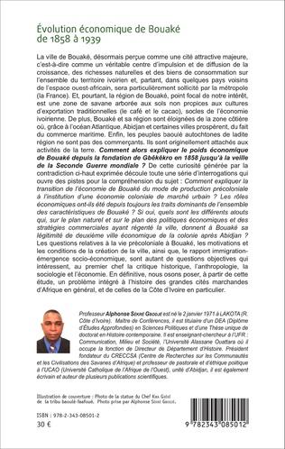 4eme Evolution économique de Bouaké de 1858 à 1939
