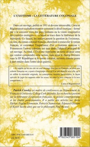 4eme L'exotisme : la littérature coloniale