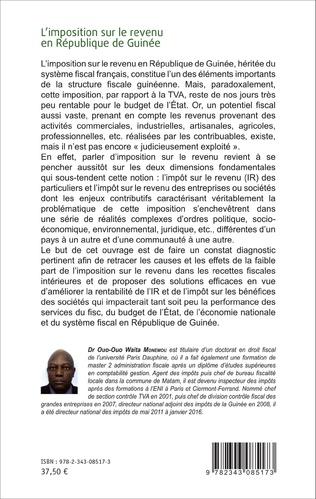 4eme L'imposition sur le revenu en République de Guinée