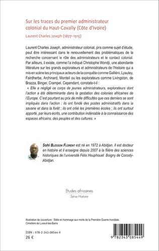 4eme Sur les traces du premier administrateur colonial du Haut-Cavally (Côte d'Ivoire)