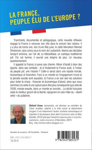 4eme La France, peuple élu de l'Europe
