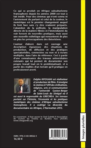 4eme De l'analogique au numérique. Cinémas et spectateurs d'Afrique subsaharienne
