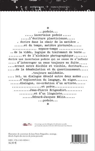 4eme Une incertaine poésie... (de l'écriture plasticienne)