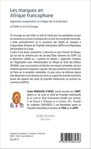 4eme Les marques en Afrique francophone